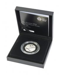 2014 Silver Proof 50p -Glasgow Games